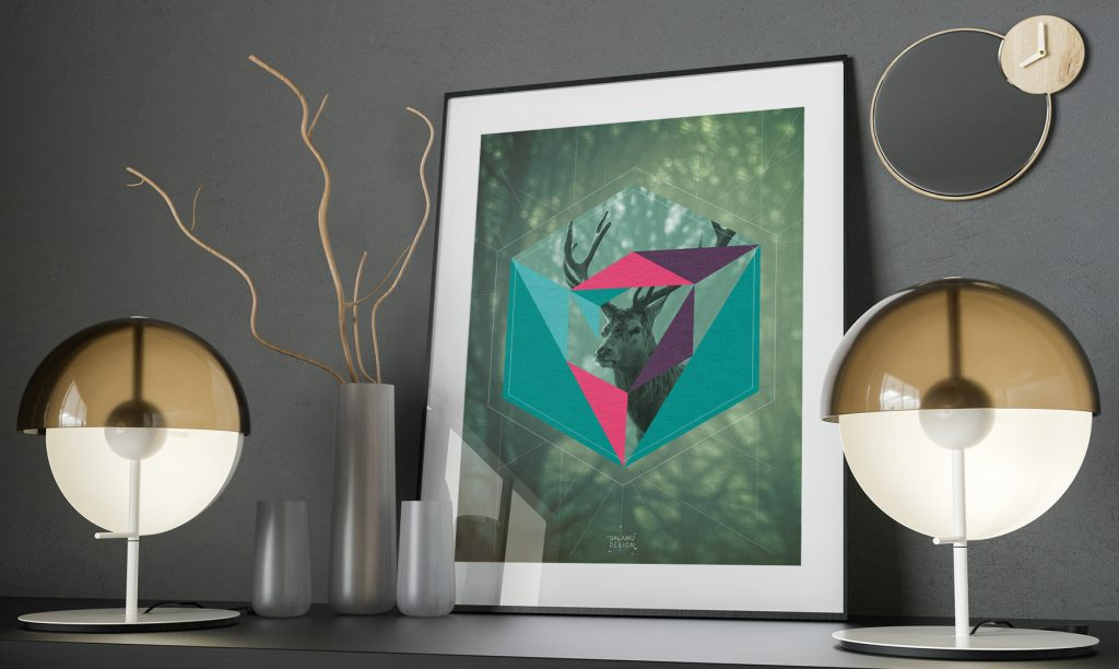 salamo design geonimals deer