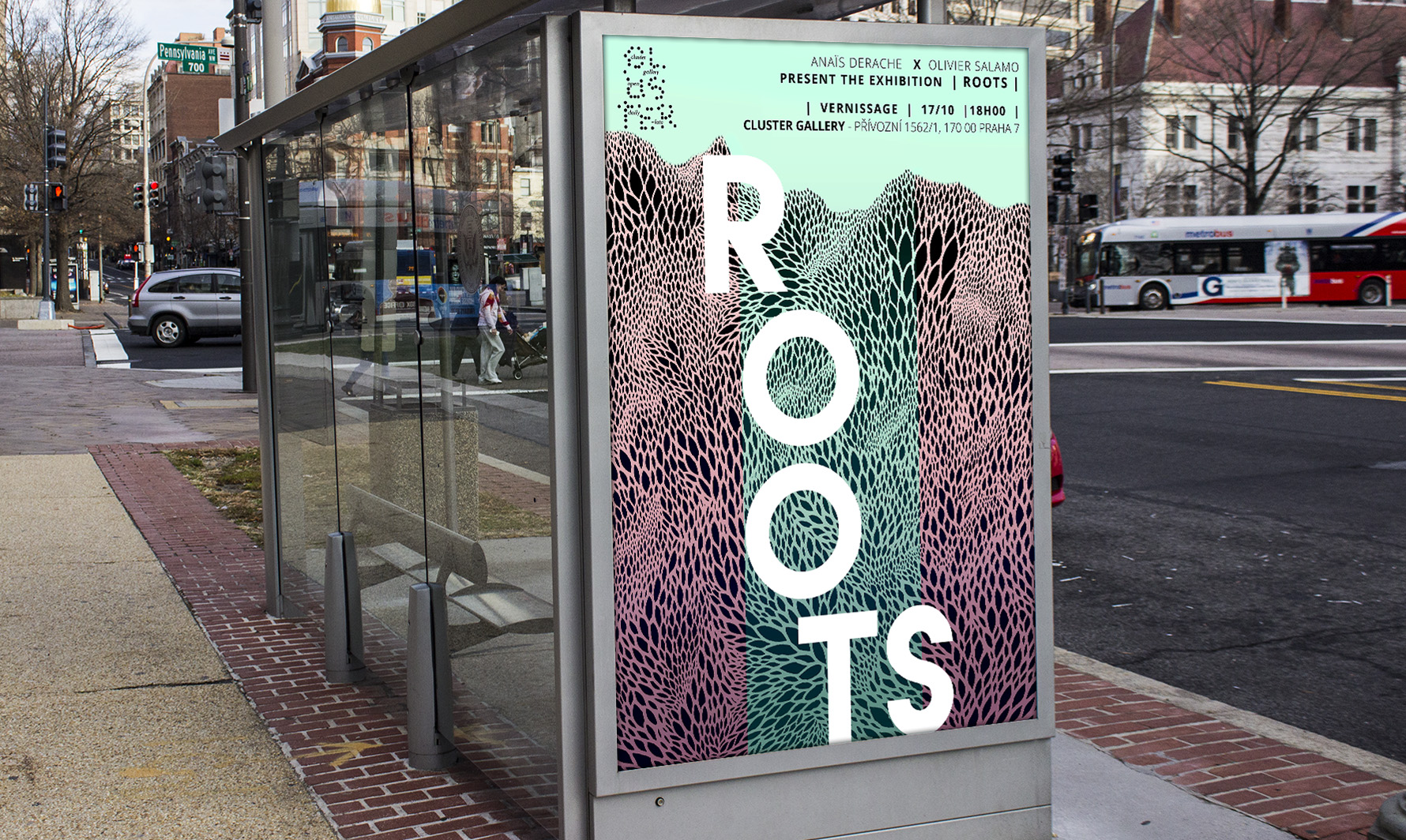 Salamo Design Affiche Roots Exhibition