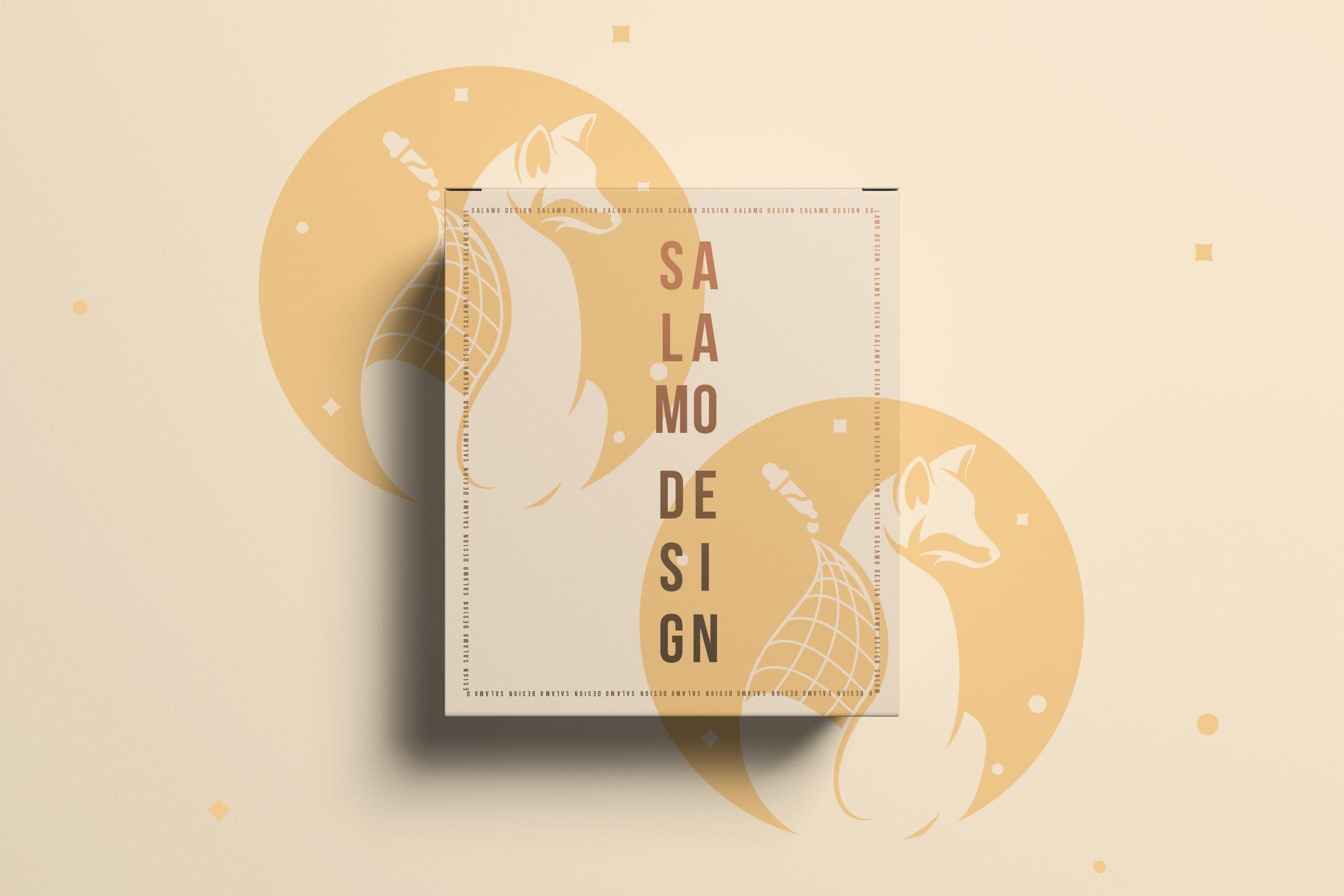 salamo design presentation portfolio affiche