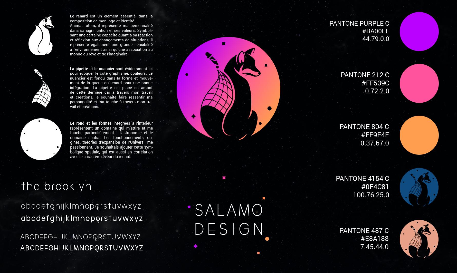 salamo design charte graphique logo