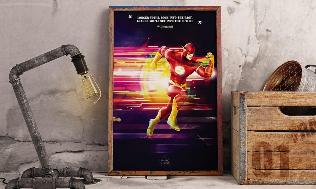 salamo design symboli heroes flash