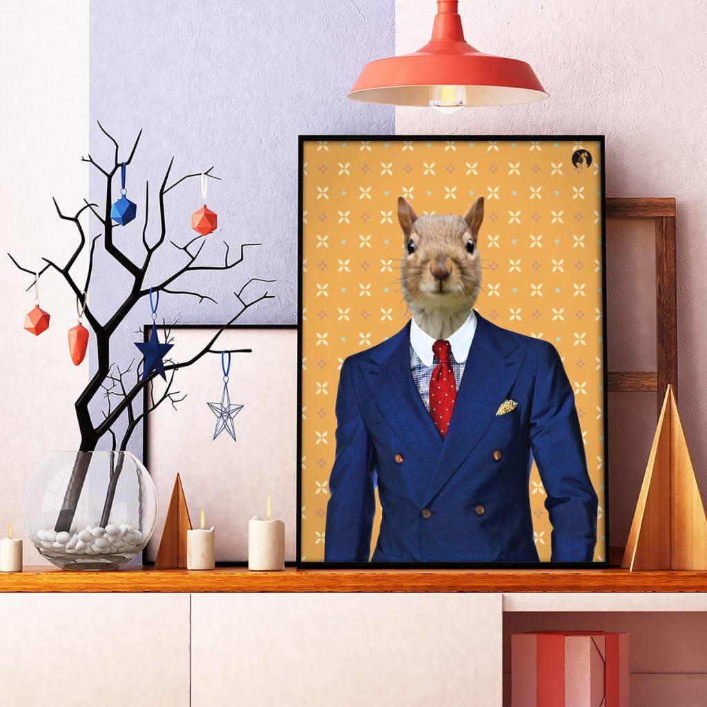 salamo design anim clout ecureuil