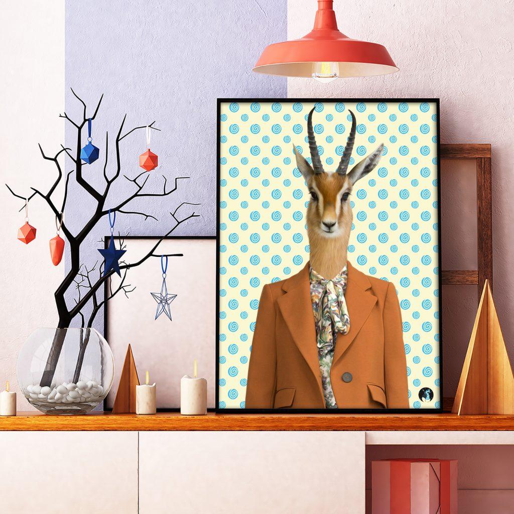 salamo design anim clout gazelle