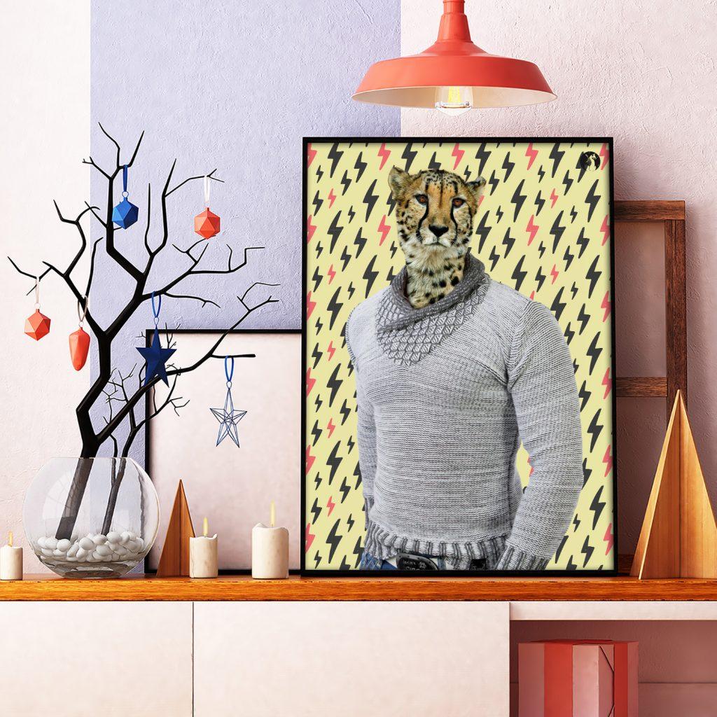 salamo design anim clout guepard