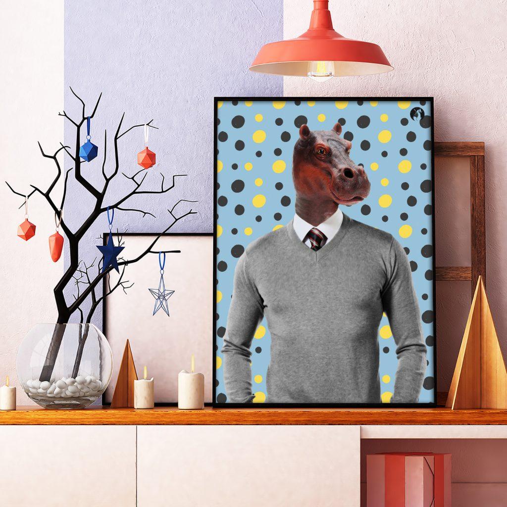 salamo design anim clout hippopotame