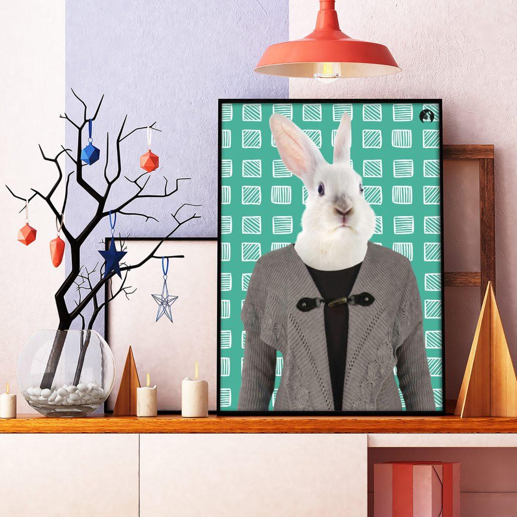 salamo design anim clout lapin