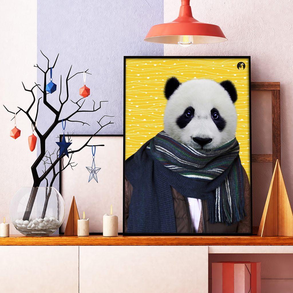salamo design anim clout panda