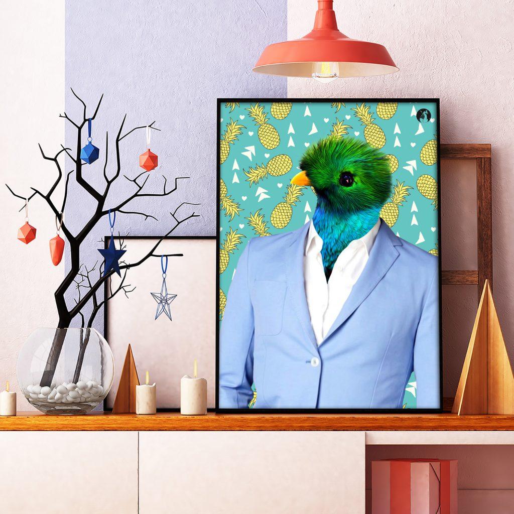 salamo design anim clout quetzal