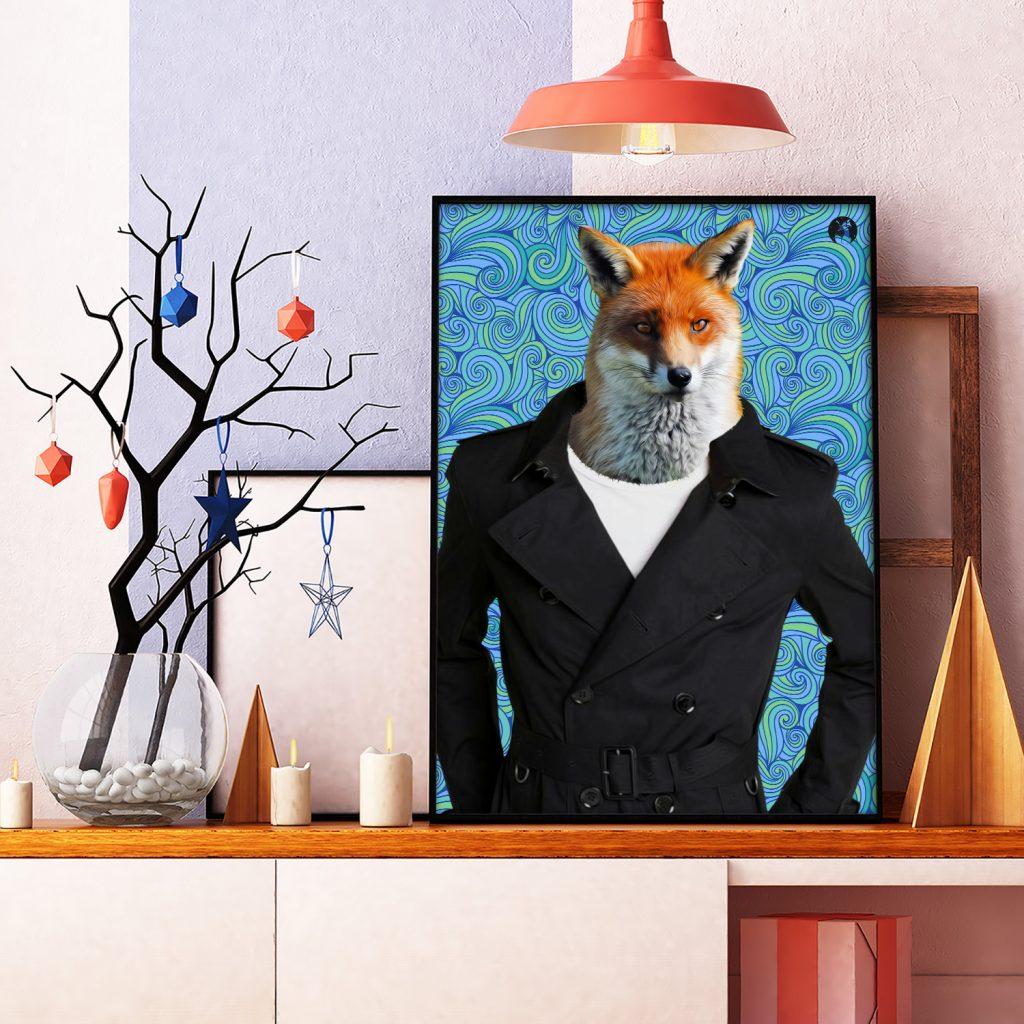 salamo design anim clout renard