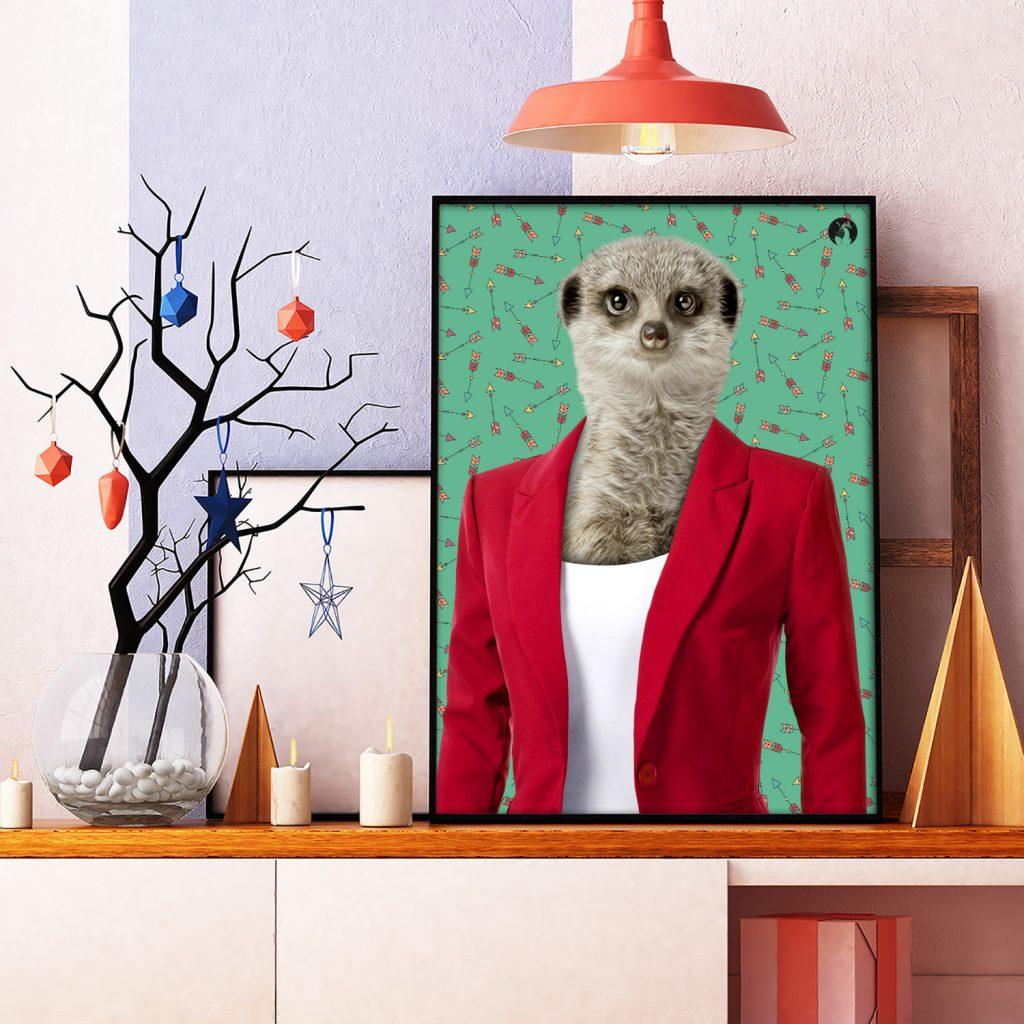 salamo design anim clout suricate